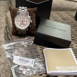 Michael Kors acrylic watch